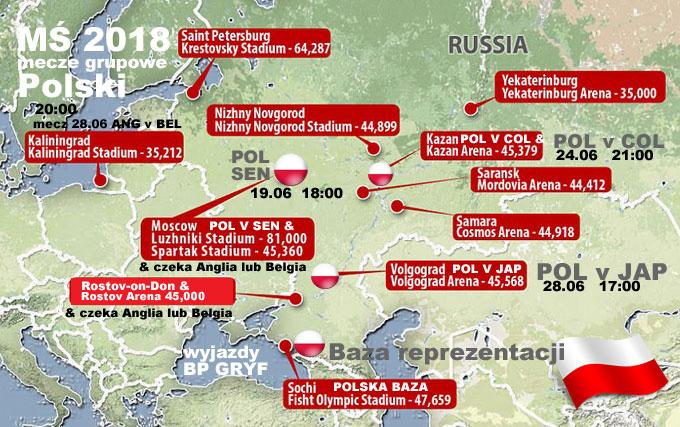 Wyjazdy Pilka Nozna Ms Rosja